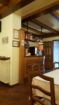 Terzo, إيطاليا: Sala da pranzo