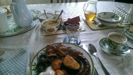 Dunns Houses Farmhouse Bed & Breakfast: English Breakfast @ Dunns Farmhouse B&B