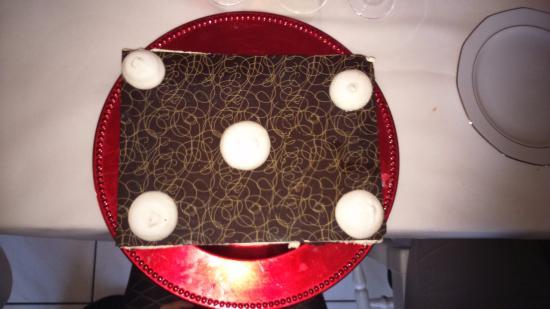 Le Nonan'T: Gâteau moelleux - mousse vanille - malterser