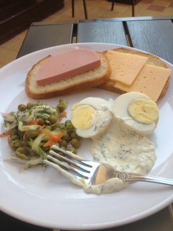 Galla Hotel: Завтрак