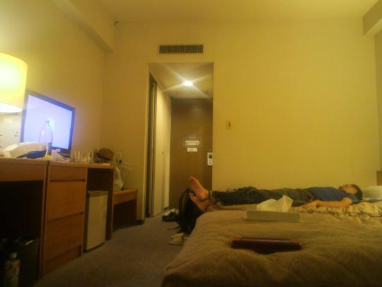 Yuzawa Grand Hotel: ツインルームの3人使用!