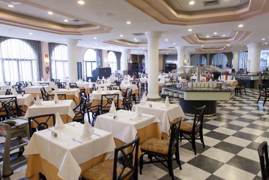 Guayarmina Princess Hotel: Buffet-Restaurant Guayarmina Princess