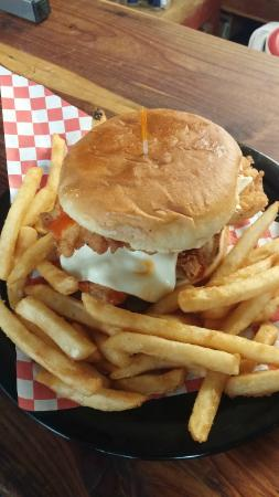 Emory, TX: Buffalo Chicken.. Amazing Flavor