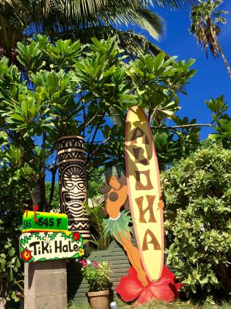 The Tiki Beach Hostel: Island style