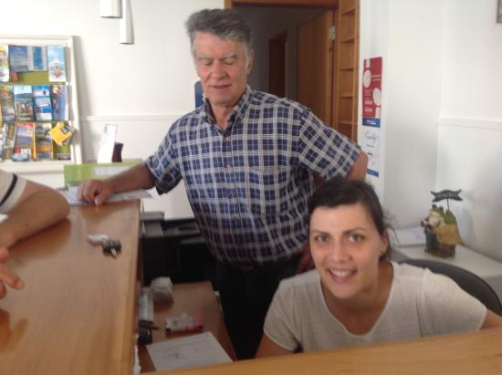 Hotel Arcanjo : Dîna et Miguel Hôtel Arcanjo