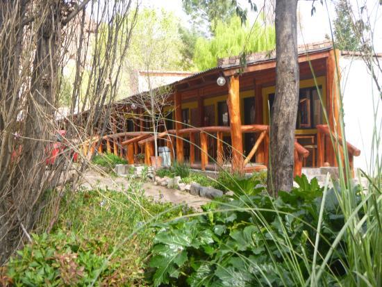 Dique Florentino Ameghino, Argentina: las habitaciones desde las parrillas