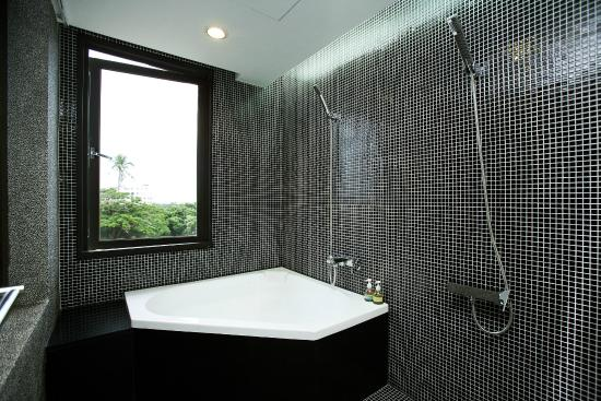 Hotel Les Champs (Hualien) : 雙人浴缸