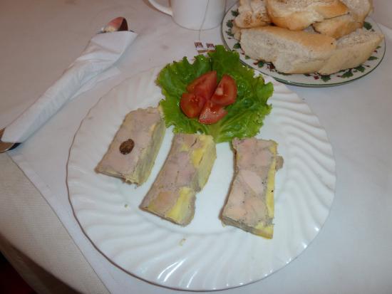 Au coin du foie gras : Фуагра трех видов