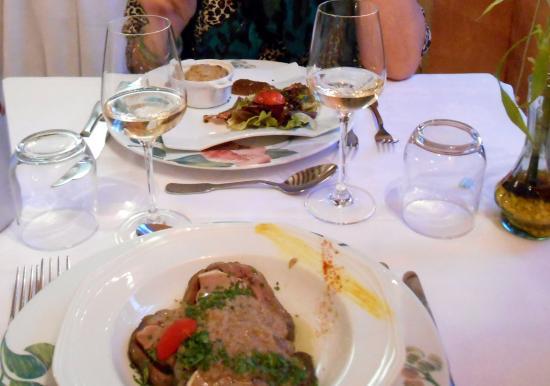 Mezieres-en-Brenne, Fransa: Entrées du menu à 27 euros , deux délices !