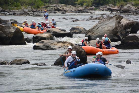 Blue Heron Whitewater: photo of the group we went with