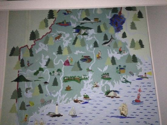 Yardarm Motel: mural