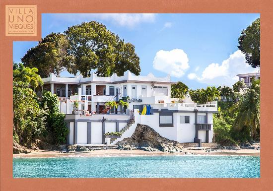 Villa Uno Vieques from the Sea
