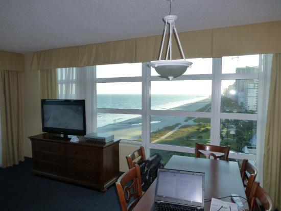 Carolinian Beach Resort  Living Room   corner 2 Bedroom suite. Living Room   corner 2 Bedroom suite   Picture of Carolinian Beach