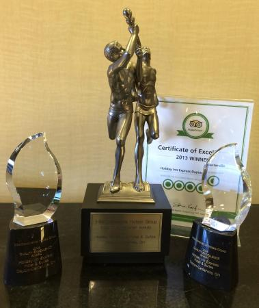 Holiday Inn Express & Suites Dayton-Centerville: Awards