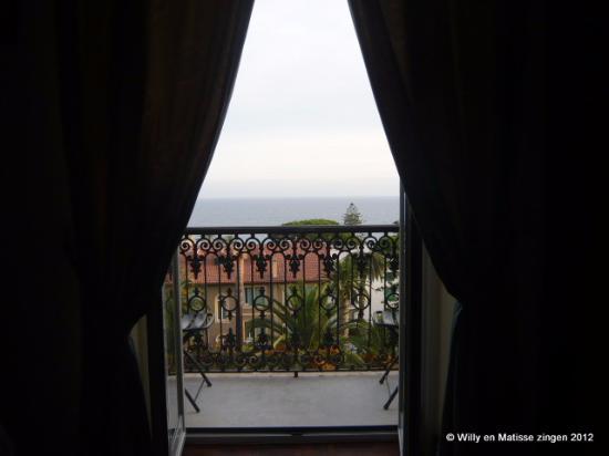 Hotel Morandi : Vanuit de kamer.