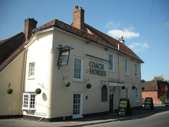 The Coach & Horses: View from the street