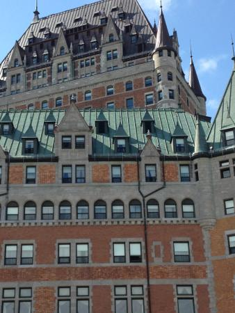 Musee du Fort: NEARBY CHATEAU FRONTENAC