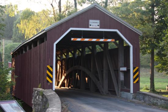 Leola, PA: Historical Zooks Mill Covered bridge