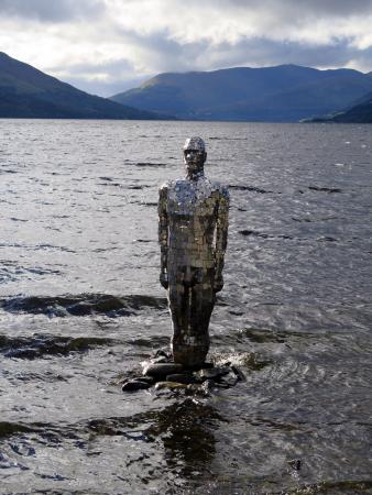 St Fillans, UK: The Still Man at Loch Earn
