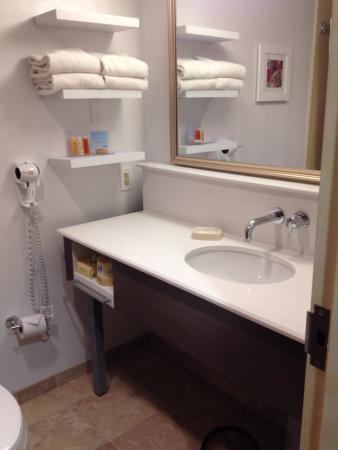 Hampton Inn Anchorage: Banheiro