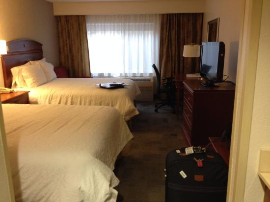 Hampton Inn Anchorage: Quarto