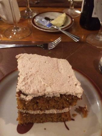 Averill's Flathead Lake Lodge: Yummy Pumpkin Spice Cake