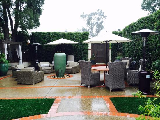 The Spa at The Inn: Meditation Courtyard