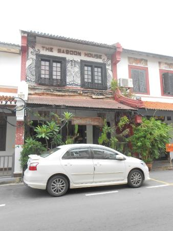 Chong Hoe Hotel: Main entrance