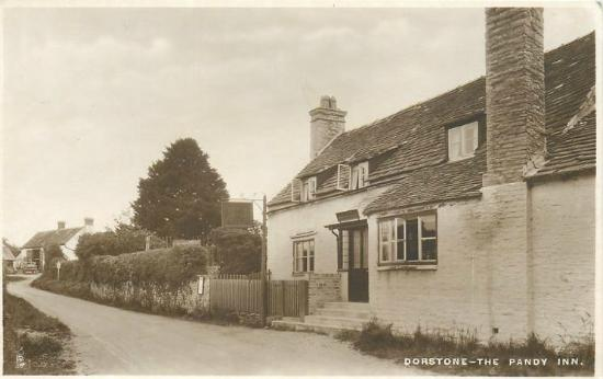 Dorstone, UK: Old photo from the 1900s
