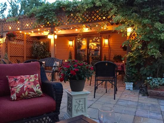 Italian Backyards beautiful patio dining - picture of vito marcello's italian bistro