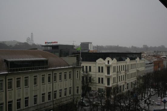Kaunas Hotel: View from Hotel Kaunas