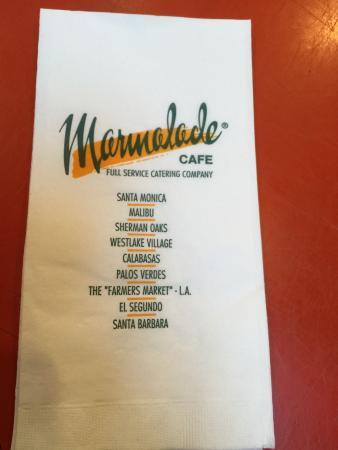 Marmalade Cafe Santa Monica Hours