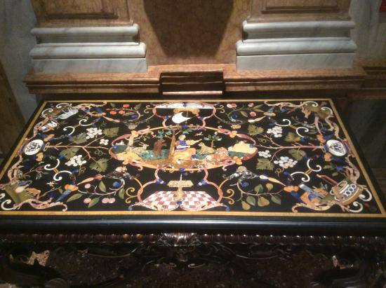 Ca' Rezzonico: Pietro Duro table