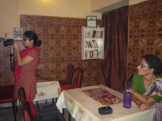Niyati Cafe: With my family
