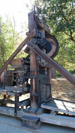 Coloma, CA: Large Mining Equipment