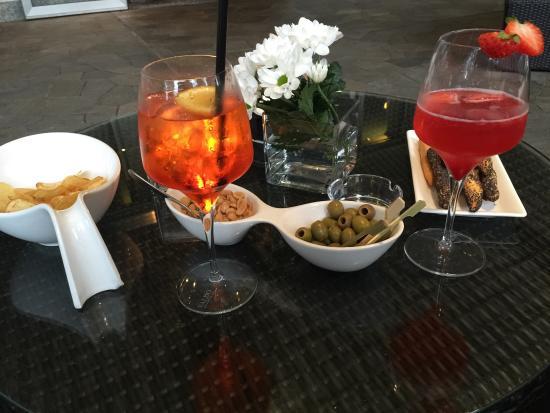 Good wine! - Picture of La Terrazza di Via Palestro, Milan ...