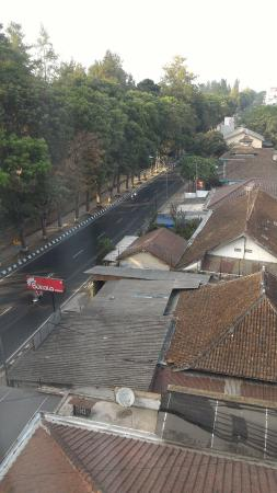 Beautiful View Of Magelang Still Few People Coming Picture Of