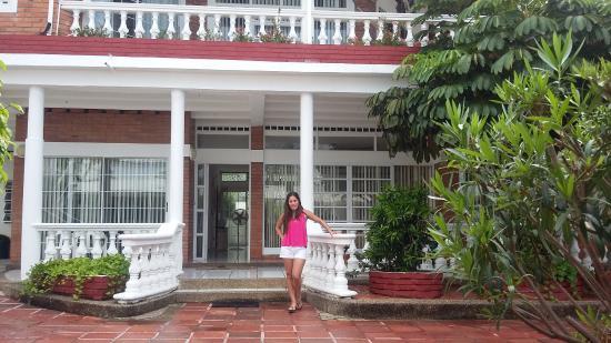 Casa VIP: Entrada principal