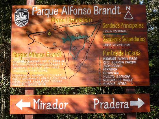 Rio Bueno, ชิลี: Recepcion_Parque Alfonso Brandt