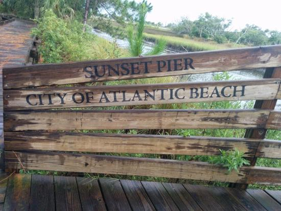Atlantic Beach, FL: Park Sign