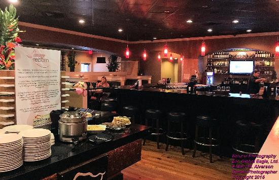 Rodizio Grill Pensacola Bar Area