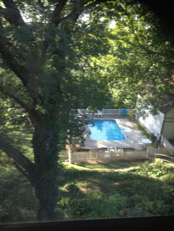 Benner House Bed and Breakfast: We didn't use the pool but another guest enjoyed it, they have a hot tub too.