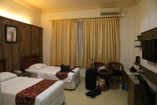 JE Meridien Hotel: Номер в отеле