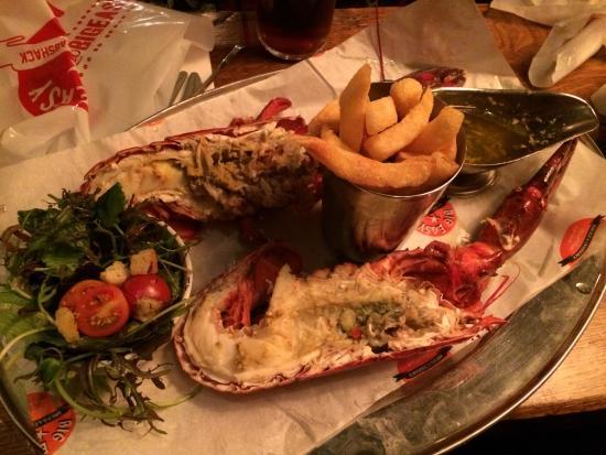 Lobster set meal - Picture of Big Easy Bar.B.Q & Lobstershack, London - TripAdvisor