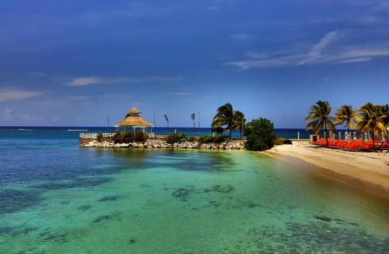 Beach Area At Moon Palace Jamaica Grande