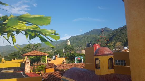Casa del Sol: Vista matutina desde la terraza