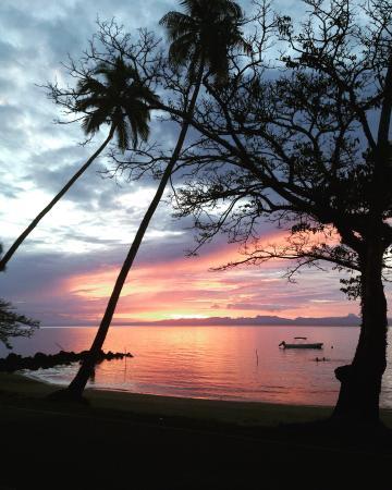 Daku Resort: magical sunsets