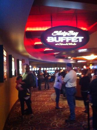 Oregon casino buffet
