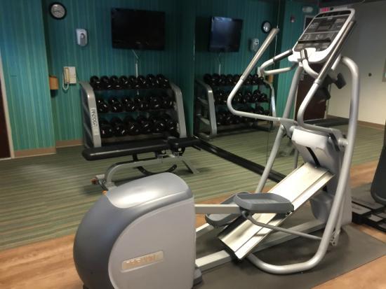 Holiday Inn Express Woodland : gym