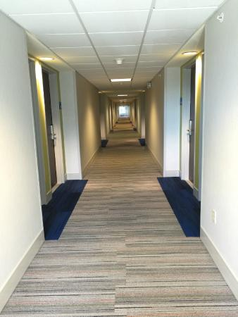 Holiday Inn Express Woodland : hallway